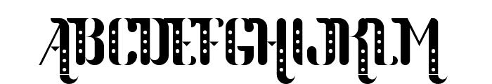 Parang Sondaica Font UPPERCASE