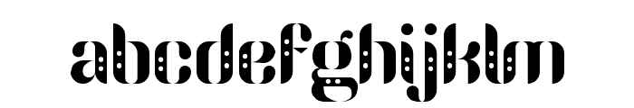 Parang Sondaica Font LOWERCASE