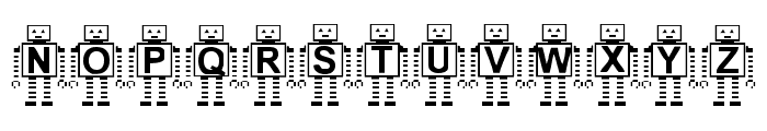 Paranoid Android BF Font UPPERCASE