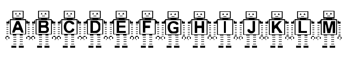 Paranoid Android BF Font LOWERCASE