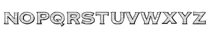 Parcel Font UPPERCASE
