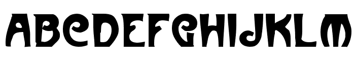 Paris Regular Font UPPERCASE