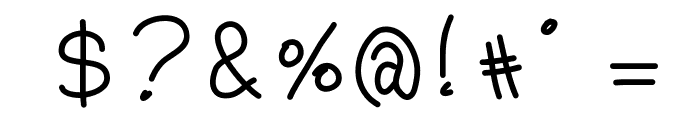 ParisByDaylight Font OTHER CHARS