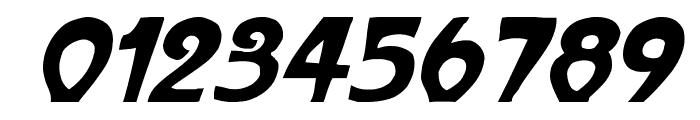 ParisMetro Italic Font OTHER CHARS