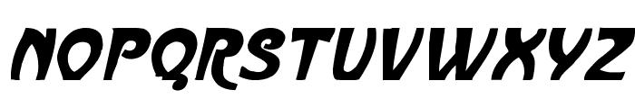 ParisMetro Italic Font UPPERCASE
