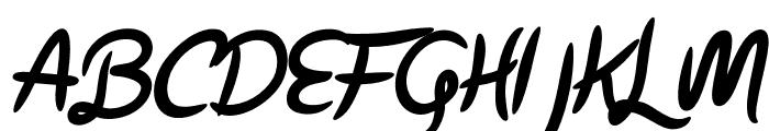Parisien Night Oblique Font UPPERCASE