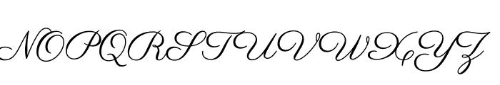 Parisienne-Regular Font UPPERCASE