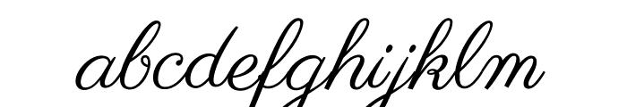 Parisienne-Regular Font LOWERCASE