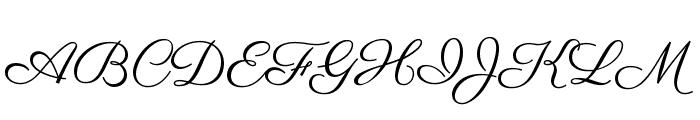 Parisienne Font UPPERCASE