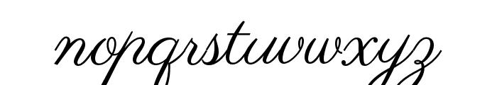 Parisienne Font LOWERCASE