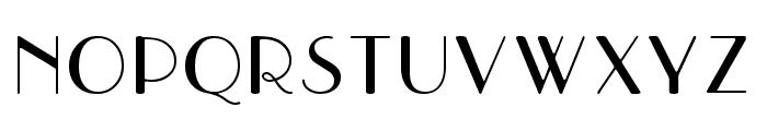 Parisish Font UPPERCASE