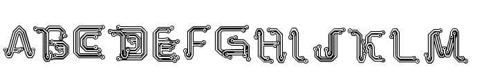Park Tech CG Font LOWERCASE
