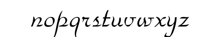 ParkAvenue Normal Font LOWERCASE
