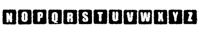 Parkinsonism Font UPPERCASE