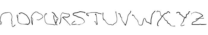 Parkinsons Font UPPERCASE
