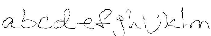 Parkinsons Font LOWERCASE