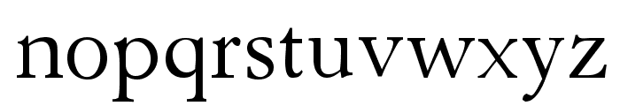 Parlante Tryout Font LOWERCASE