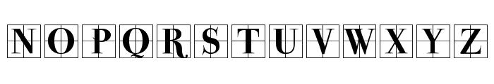 ParmaInitialenMK Font UPPERCASE