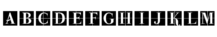ParmaInitialenMK Font LOWERCASE