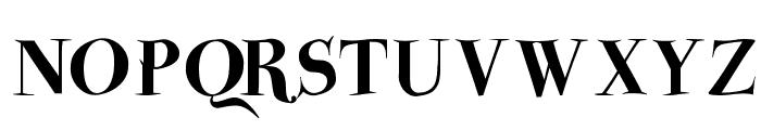 ParmaPetit-HeavySwinging Font UPPERCASE