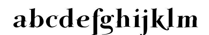 ParmaPetit-HeavySwinging Font LOWERCASE