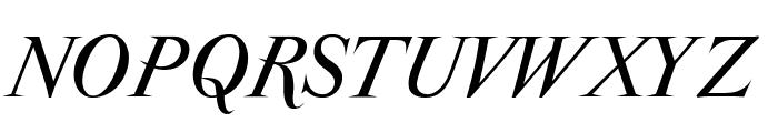 ParmaPetit-Italic Font UPPERCASE