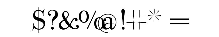 ParmaPetit-Normal Font OTHER CHARS