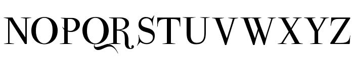 ParmaPetit-Normal Font UPPERCASE