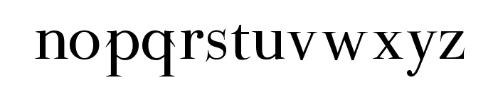 ParmaPetit-Normal Font LOWERCASE