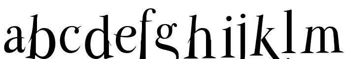 ParmaPetitNormal Font LOWERCASE