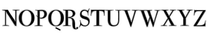 ParmaPetitOutline Font UPPERCASE