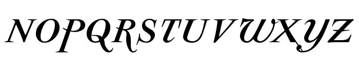 ParmaPetitSCItalic Font LOWERCASE