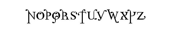 Parolm SmallCaps Font LOWERCASE