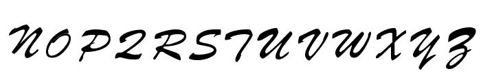 Parquet Font UPPERCASE
