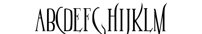 Parseltongue Font LOWERCASE
