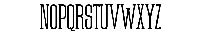 Partizano-Regular Font UPPERCASE