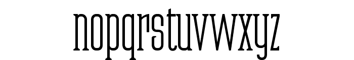 Partizano-Regular Font LOWERCASE