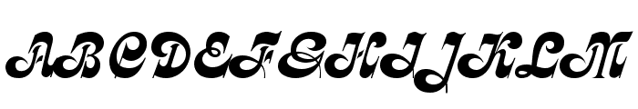 Partridge Font UPPERCASE