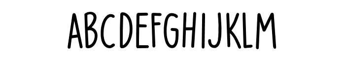 Party Pocket DEMO Regular Font LOWERCASE