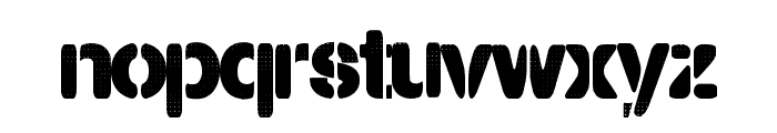 PartyLights Font LOWERCASE