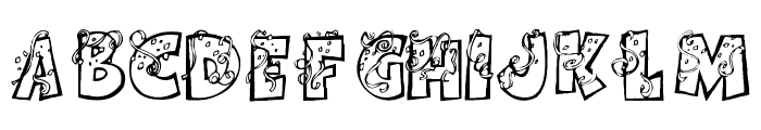 PartybyTom Font UPPERCASE