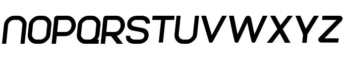 Parvoflavin Normal Skew Font UPPERCASE