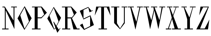 Pasdecourbe Font UPPERCASE