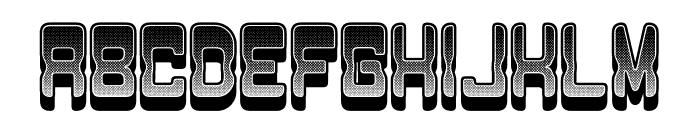 Passage Gradient Regular Font UPPERCASE