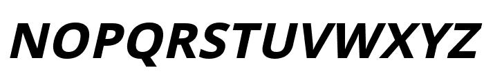 Passageway Bold Italic Font UPPERCASE