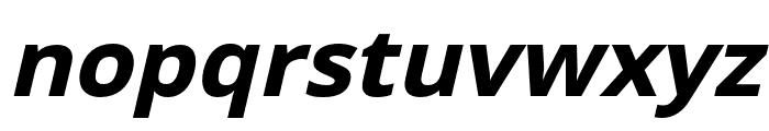 Passageway Bold Italic Font LOWERCASE