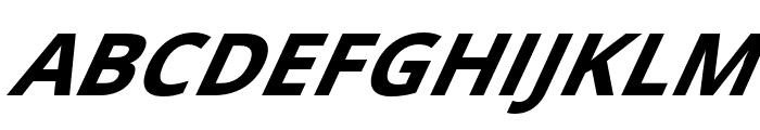 Passageway Bold SuperItalic Font UPPERCASE