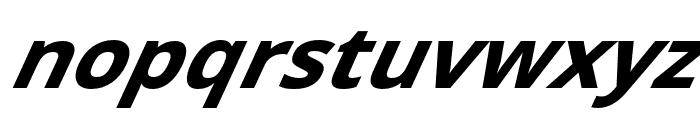 Passageway Bold SuperItalic Font LOWERCASE