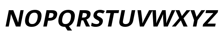 Passageway Italic Font UPPERCASE