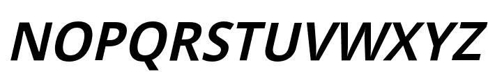 Passageway Light Italic Font UPPERCASE